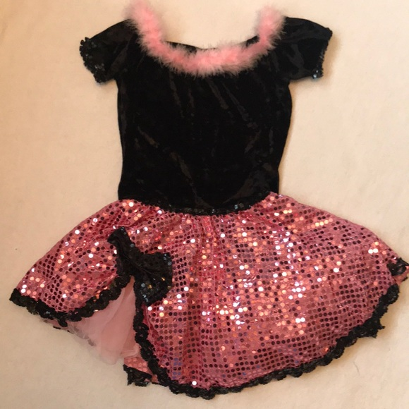 Weissman Dance Costume Set, sz LC (14)